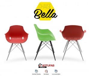 Electro mbh | chaise bella chromé sotufab