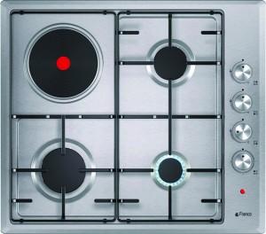 Electro mbh | Plaque de cuisson mixte électrique et gaz franco