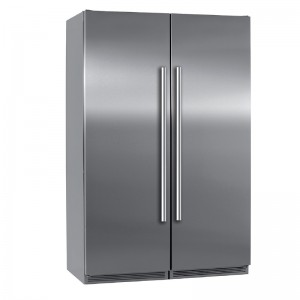 Electro mbh | Side by side 2 portes inox 120cm SMART 3500 FOCUS