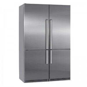 Electro mbh | Side by side 4 portes inox 120cm SMART 3300 FOCUS