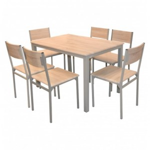 Electro mbh | Table SERENA top en PVC 140x90cm