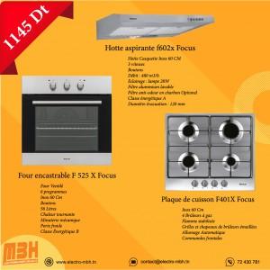 Electro mbh | Pack Ramadan Hotte F602X; Four F525X; Plaque F401X