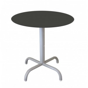 Electro mbh | Table bistrot ronde Ø60cm  TOP COMPACT socle peinture