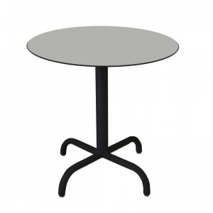 Electro mbh | Table bistrot ronde Ø70cm TOP COMPACT  socle peinture