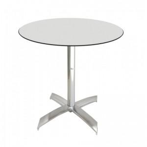 Electro mbh | Table bistrot ronde Ø70cm TOP COMPACT socle en X