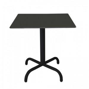 Electro mbh   Table bistrot carré 60*60 cm TOP COMPACT socle peinture