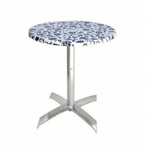 Electro mbh | Table bistrot ronde Ø 60 cm socle en X