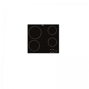 Electro mbh | Plaque 4 feux radiants en verre vitrocéramique  AKT-8090-NE WHIRLPOOL