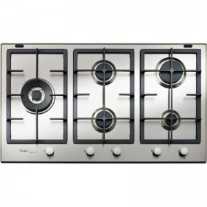 Electro mbh | Plaque de cuisson 5 feux inox GMA-9522-IX WHIRLPOOL