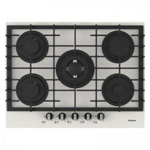 Electro mbh | Plaque de cuisson 5 feux F406 W FOCUS