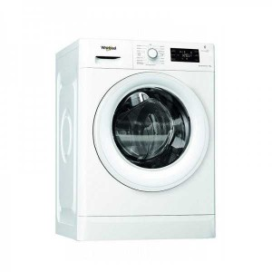 Electro mbh | Machine à laver Frontale WHIRLPOOL 9 Kg FWG91284W NA Blanc