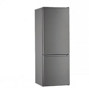 Electro mbh | Réfrigérateur Combiné 339 litres De Frost  inox W5811EOXH  WHIRLPOOL