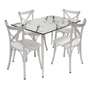 Electro mbh   Table salle à manger TIVOLI TOP COMPACT 120*70 cm