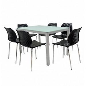 Electro mbh   TABLE SERENA TOP EN VERRE 150 x 90