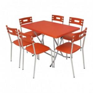 Electro mbh   TABLE PLIANTE RECTANGULAIRE 110×60 cm WERZALIT