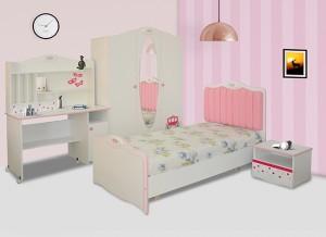 Electro mbh | Chambre à coucher enfant princesse sotufab
