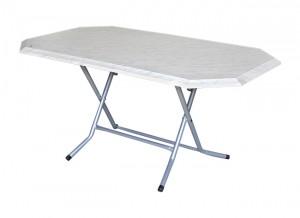 Electro mbh | Table pliante hexagonale 165*95 cm
