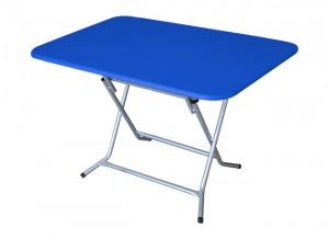 Electro mbh   Table pliante rectangulaire 100*80 cm