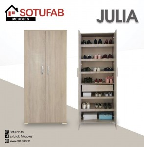 Electro mbh | meuble d'entrée julia sotufab