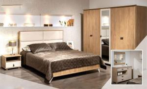 Electro mbh   Chambre à coucher adulte DETENTE avec  2 portes coulissantes