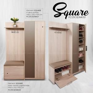 Electro mbh | meuble d'entrée square
