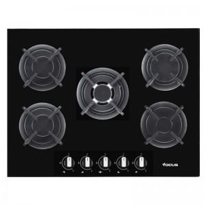 Electro mbh | plaque de cuisson 5 feux focus f.417b