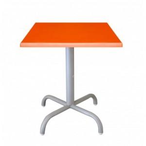 Electro mbh | Table bistrot carré 70*70 cm socle peinture