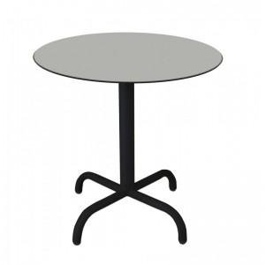 Electro mbh | Table bistrot ronde Ø70cm TOP COMPACT  socle peinture