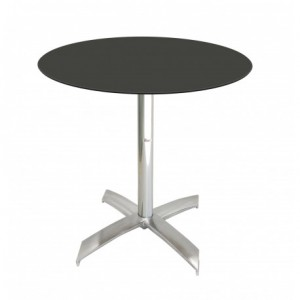 Electro mbh | Table bistrot ronde Ø60cm TOP COMPACT socle en X