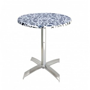 Electro mbh | Table bistrot ronde Ø70cm socle en X