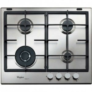 Electro mbh   Plaque de cuisson 4 Feux inox  GMA6422IXL WHIRLPOOL
