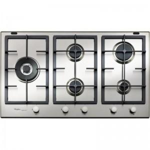 Electro mbh   Plaque de cuisson 5 feux inox GMA-9522-IX WHIRLPOOL