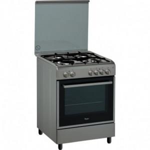Electro mbh   Cuisinière  4 feux Inox ACMK6110IX3 WHIRLPOOL