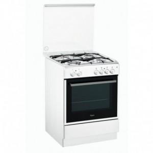 Electro mbh   Cuisinière 4 feux blanc ACMK6110WH3 WHIRLPOOL