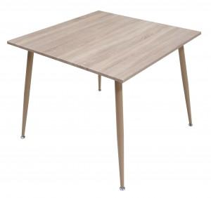 Electro mbh | Table salle à manger TIVOLI pvc 90*90 cm