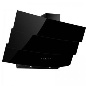 Electro mbh | Hotte Franco décorative 60 vitro+ commande -Noir