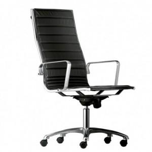Electro mbh | chaise directeur Monaco base chromé