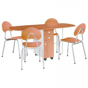 Electro mbh | Table rabattable  GM PVC