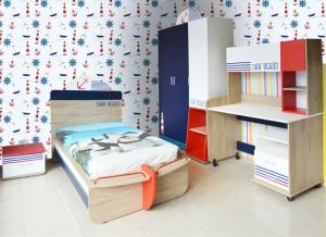 Electro mbh | Chambre à coucher enfant marin