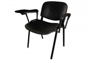 Electro mbh   chaise iso skai avec accoudoirs et tablette