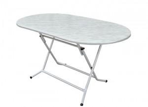 Electro mbh | Table pliante ovale werzalit 145*78 cm