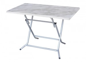 Electro mbh | Table pliante rectangulaire 110*60 cm