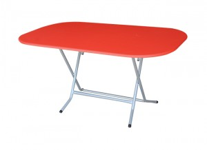 Electro mbh | Table pliante ovale 146*94 cm