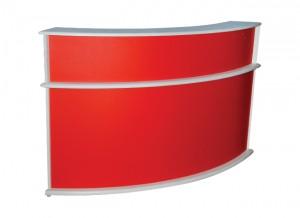 Electro mbh | Comptoir de réception COLOGNE avec 2 tiroirs