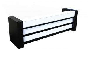 Electro mbh | Comptoir de réception HAVANA avec 4 tiroirs